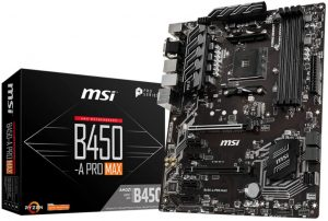 MSI ProSeries AMD Ryzen 2ND and 3rd Gen AM4 M.2 USB 3 DDR4 D-Sub DVI HDMI Crossfire ATX Motherboard